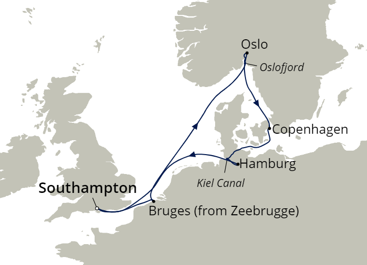 Itinerary map!