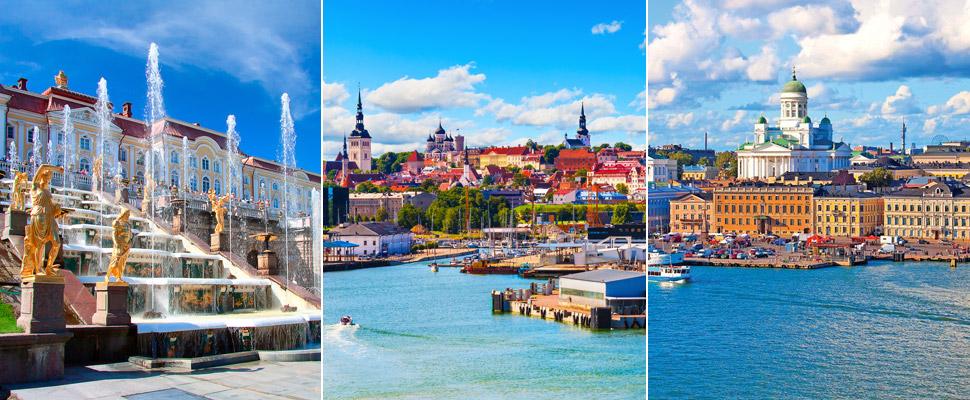 St Petersburg, Tallinn and Helsinki