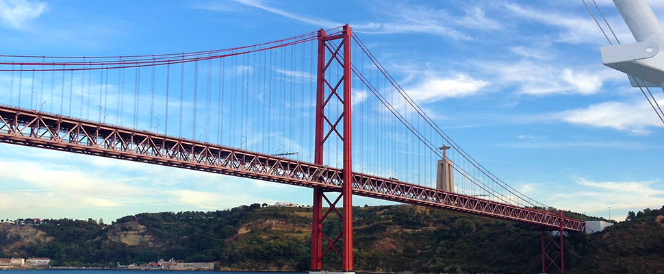 Ponte 25 de Abril Bridge Lisbon