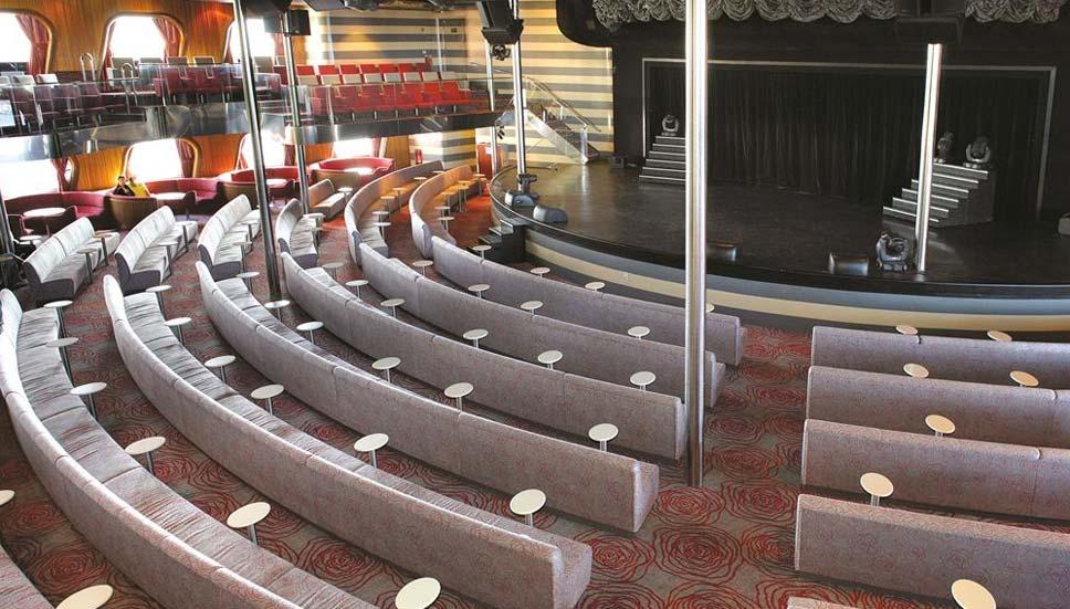 Magellan show lounge