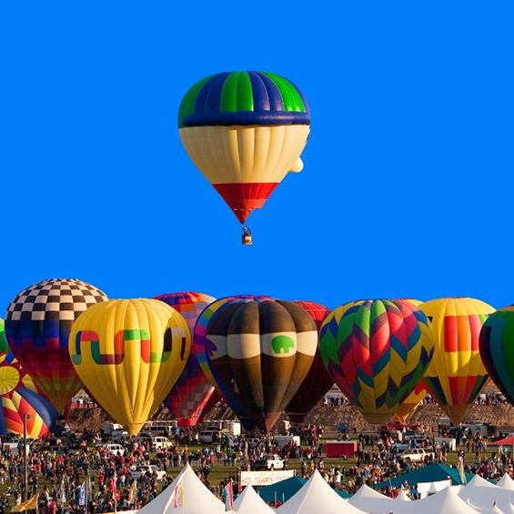 Enchanted New Mexico Albuquerque Balloon Fiesta